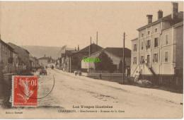 Carte Postale Ancienne De CHATENOIS – GENDARMERIE – AVENUE DE LA GARE - Chatenois