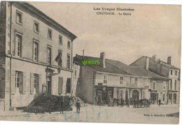 Carte Postale Ancienne De CHATENOIS – LA MAIRIE - Chatenois