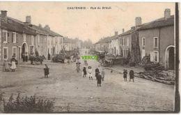 Carte Postale Ancienne De CHATENOIS – RUE DU BREUIL - Chatenois