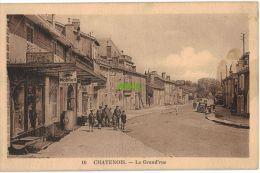 Carte Postale Ancienne De CHATENOIS – LA GRAND' RUE - Chatenois