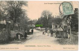 Carte Postale Ancienne De CHATENOIS – ENTREE DU VIEUX BOURG - Chatenois
