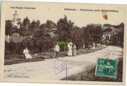 Carte Postale Ancienne De CHATENOIS – PANORAMA – ROUTE DE NEUFCHATEAU - Chatenois