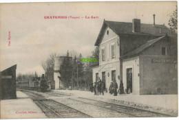 Carte Postale Ancienne De CHATENOIS – LA GARE - Chatenois