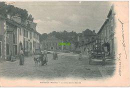 Carte Postale Ancienne De CHATENOIS – RUE SOUS L'EGLISE - Chatenois