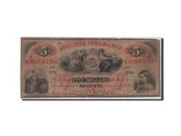 [#44789] Etats-Unis, Obsolètes, Georgia, Augusta Insurance, 5 Dollars 10.3.1860 - Georgia