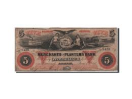 [#44726] Etats-Unis, Obsol�tes, Georgia, Merchants & Planters Bank, 5 Dollars 1.6.1860