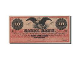 [#44740] Etats-Unis, Obsol�tes, Louisiana, Canal Bank, 10 Dollars 18__