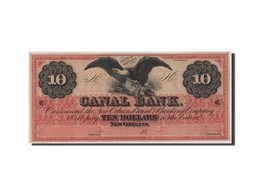 [#44740] Etats-Unis, Obsolètes, Louisiana, Canal Bank, 10 Dollars 18__ - United States Of America