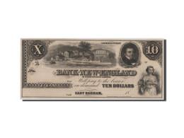 [#44677] Etats-Unis, Obsol�tes, Connecticut, Bank of New-England, 10 Dollars 18__