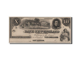 [#44677] Etats-Unis, Obsolètes, Connecticut, Bank Of New-England, 10 Dollars 18__ - Collections