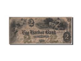 [#44732] Etats-Unis, Obsol�tes, New Jersey, Egg Harbor Bank, 2 Dollars 17.12.1860