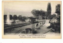 CP AISNE - LAON N°37 LE VIADUC ET LE MONUMENT AUX MORTS (CHARLES ABELLA ARCHITECTE- GAUMONT SCULPTEUR-STATUAIRE) - Laon