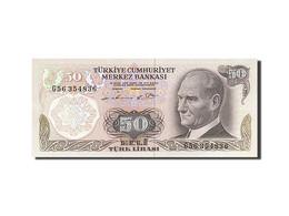 Turquie, 50 Lira, Type Président Ataturk - Turquie
