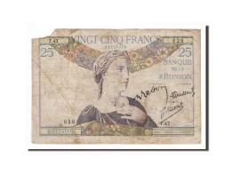 La Réunion, 25 Francs Type 1927 - Réunion
