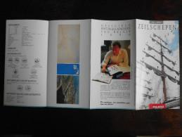 België Belgium - Folder Postzegeluitgifte: 1995 Zeilschepen / Sailing Ships - Timbres