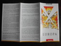 België Belgium - Folder Postzegeluitgifte: 1995 EUROPA CEPT Concentratiekampen / World War II Concentration Camps - Timbres
