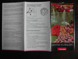 België Belgium - Folder Postzegeluitgifte: 1995 Bloemen / Flowers - Autres Livres