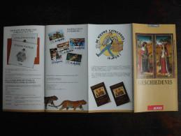 België Belgium - Folder Postzegeluitgifte: 1996 Geschiedenis Filips De Schone En Johanna Van Castilië / History - Arts - Autres Livres