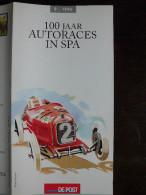 België Belgium - Folder Postzegeluitgifte: 1996 Auto's / Race Cars - Autres Livres