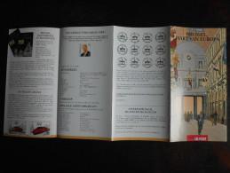België Belgium - Folder Postzegeluitgifte: 1996 Brussel / Brussels - Heart Of Europe - Autres Livres