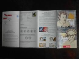 België Belgium - Folder Postzegeluitgifte: 1996 EUROPA CEPT - Timbres