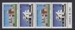 Europa Cept 1987 Northern Cyprus 2v Booklet Pane ** Mnh (F4043B) - 1987