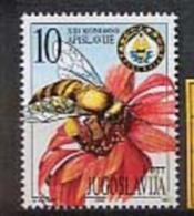 MDI-BK1-194 MINT ¤ JUGOSLAVIA 2000 1w In Serie ¤ BEES - INSEKTEN - INSECTES - INSECTS - INSETTI - INSECTOS - Honeybees