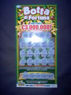 BIGLIETTO USATO GRATTA E VINCI - BOTTA DI FORTUNA - - Billets De Loterie