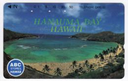 HAWAII  Télécarte Japonaise HANAUMA BAY - Hawaï