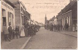 DE KLINGE CLINGE DORPSTRAAT FELDPOST 1915 Re 731 - Sint-Gillis-Waas