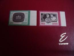 Timbres  DDR  Neufs *** Année;1962   Michel   N°    923 / 24 - Neufs
