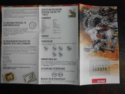 België Belgium - Folder Postzegeluitgifte: 1997 EUROPA CEPT Legendes / Legends - Timbres