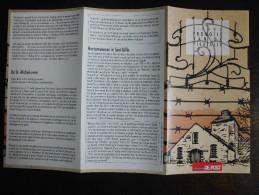 België Belgium - Folder Postzegeluitgifte: 1997 Musea - Museum Of Deportation And Resistance, Etc. - Autres Livres