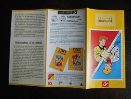 België Belgium - Folder Postzegeluitgifte: 1998 Jeugdfilatelie / Youth Philately 'Chick Bill' - Timbres