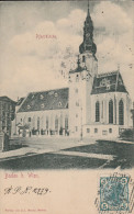 Baden Bei Wien - Pfarrkirche - Scan Recto-verso - Baden Bei Wien