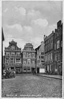 AK Wismar I. M.,  Architektonische Giebel A. Markt - Wismar