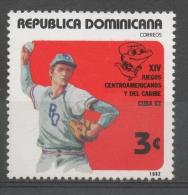 Repubblica Dominicana Dominican Republic 1982 -  Baseball MNH ** - República Dominicana