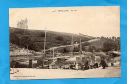 PONT AVEN-le Petit Port -Animé -années 1900-10-édition Laurent - Pont Aven