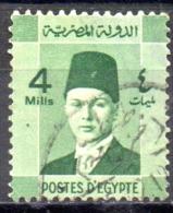 EGYPT 1937 Investiture Of King Farouk - 4m  - Green    FU - Usati