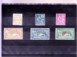 ALEXANDRIE : Y&T  : 75*-76*-77*-78-79-80NSG - Alexandrie (1899-1931)