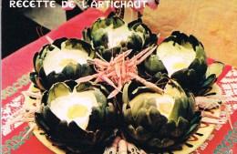 Recette De L'Artichaut . - Recipes (cooking)