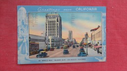 California> Los Angeles Greetings  Wilshire  Blvd.      -------         ----------      - - 1899