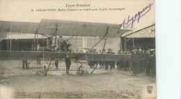 Lyon Aviation : Autographe De Legagneux - Aviateurs