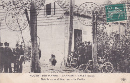 NOGENT SUR MARNE GARNIER ET VALET TRAQUES DANS UN PAVILLON - Nogent Sur Marne