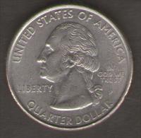 STATI UNITI QUARTER DOLLAR 1999 PENNSYLVANIA - Emissioni Federali