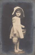 CPA - A La Plage - Children