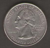STATI UNITI QUARTER DOLLAR 2000 MASSACHUSETTS THE BAY STATE - 1999-2009: State Quarters