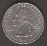 STATI UNITI QUARTER DOLLAR 2001 NEW YORK GATEWAY TO FREEDOM - Emissioni Federali