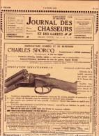 Journal Des Chasseurs & Des Gardes 1922 Armes Munitions + FN Schroeder Christophe Saive Lejeune Sporcq - Kranten