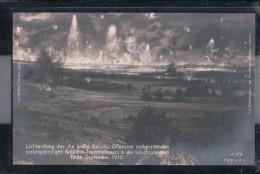 Trommelfeuer Ende September 1915 - Große Französische Offensive - Guerre 1914-18